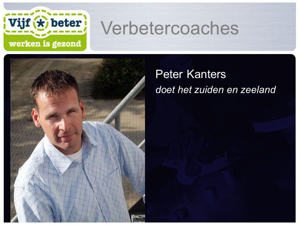 Peter Kanters doet het zuiden en zeeland Verbetercoaches