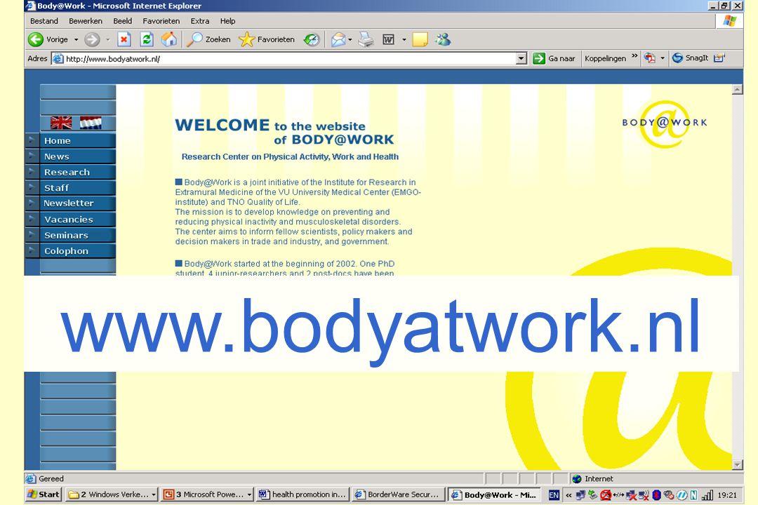 2 www.bodyatwork.nl