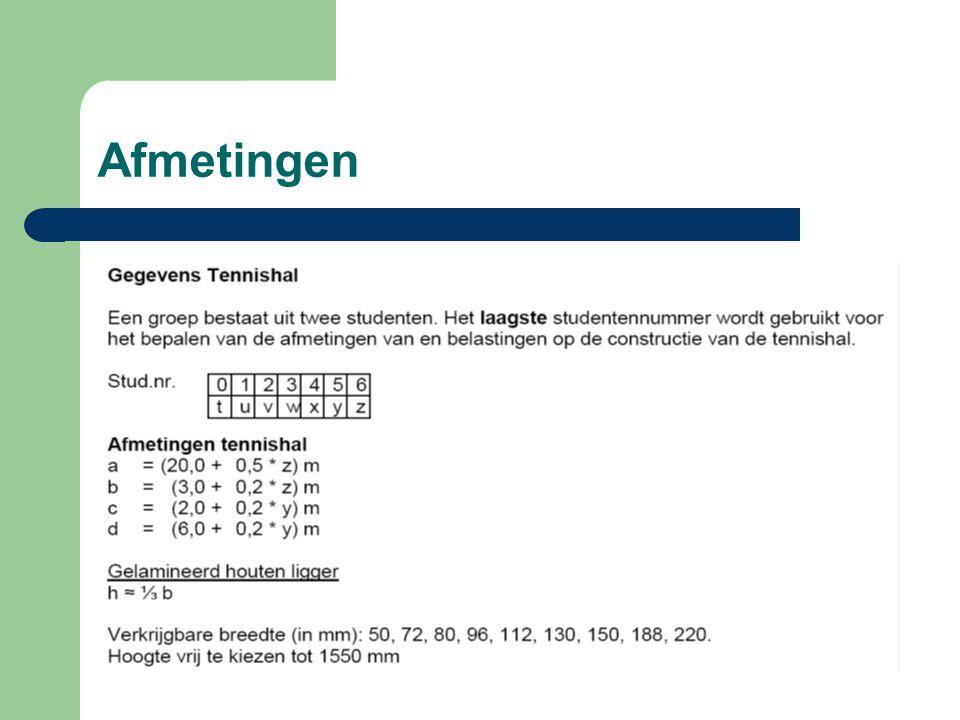 Samengesteld profiel Ditzelfde voor Iz Iz = (3945 * 10^4 + (0)^2 * 7138) + (1/12 * 10 * 500^3 + (0)^2 * 5000) Iz = 14361 * 10^4 mm^4