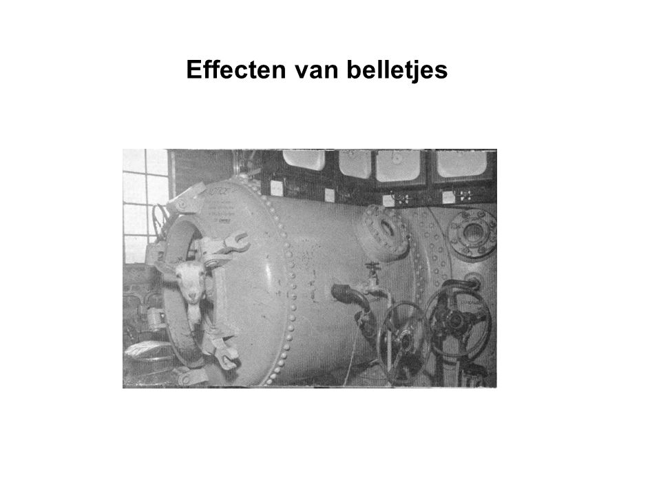 Doelstelling Na deze les kunnen jullie de mechanische en biochemische effecten van stikstofbelletjes beschrijven, en de gevolgen ervan op het lichaam