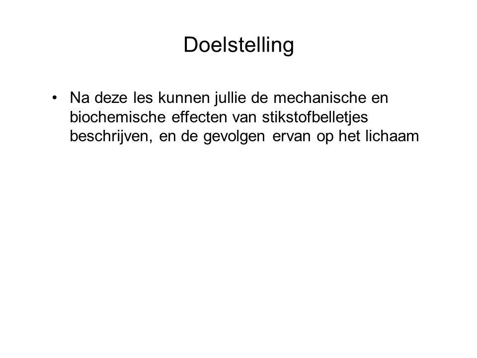 Effecten van belletjes verdeeld in 2 categorieën: - Mechanische effecten - Biochemische effecten