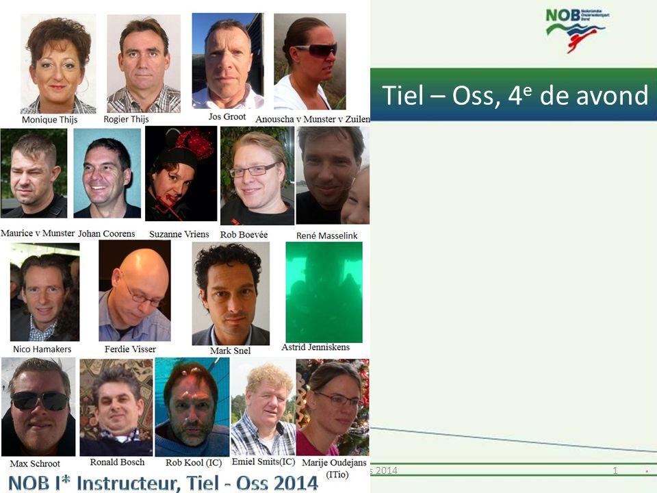 Tiel – Oss, 4 e de avond 11* Instructeur Tiel en Oss 2014