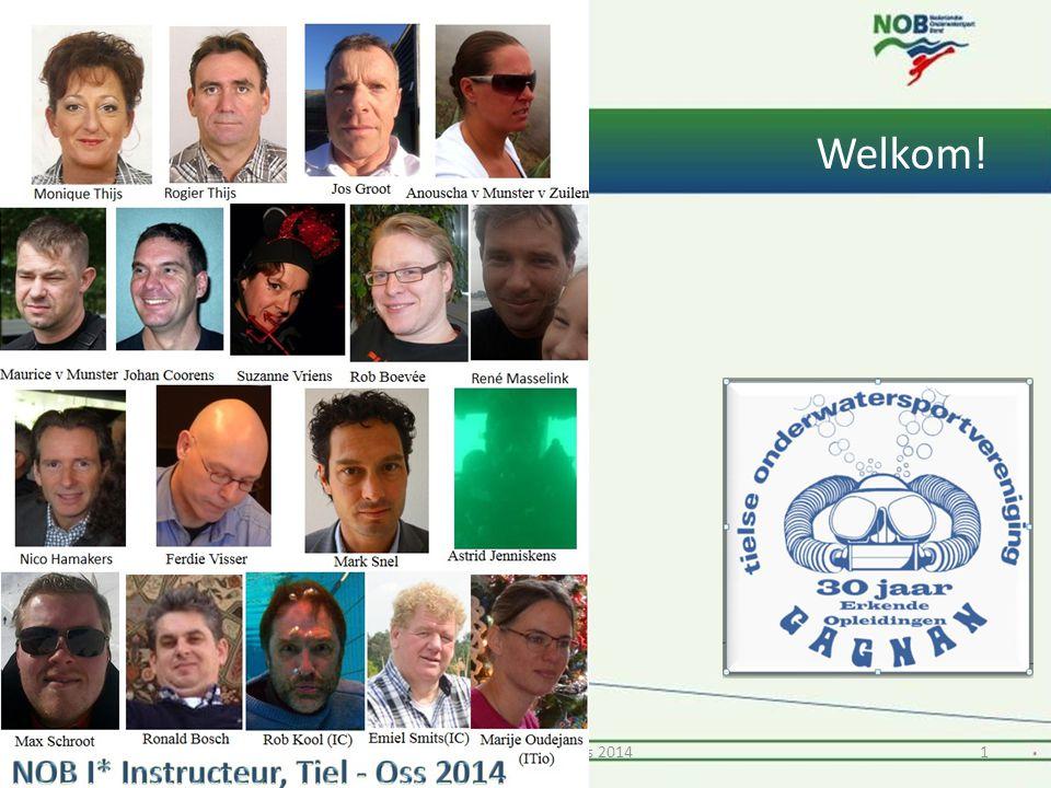 Welkom! 11* Instructeur Tiel & Oss 2014