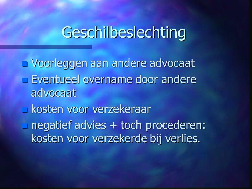 Garageverzekering n Bedrijfsaansprakelijkheid: klanten-WP; derden-OD.