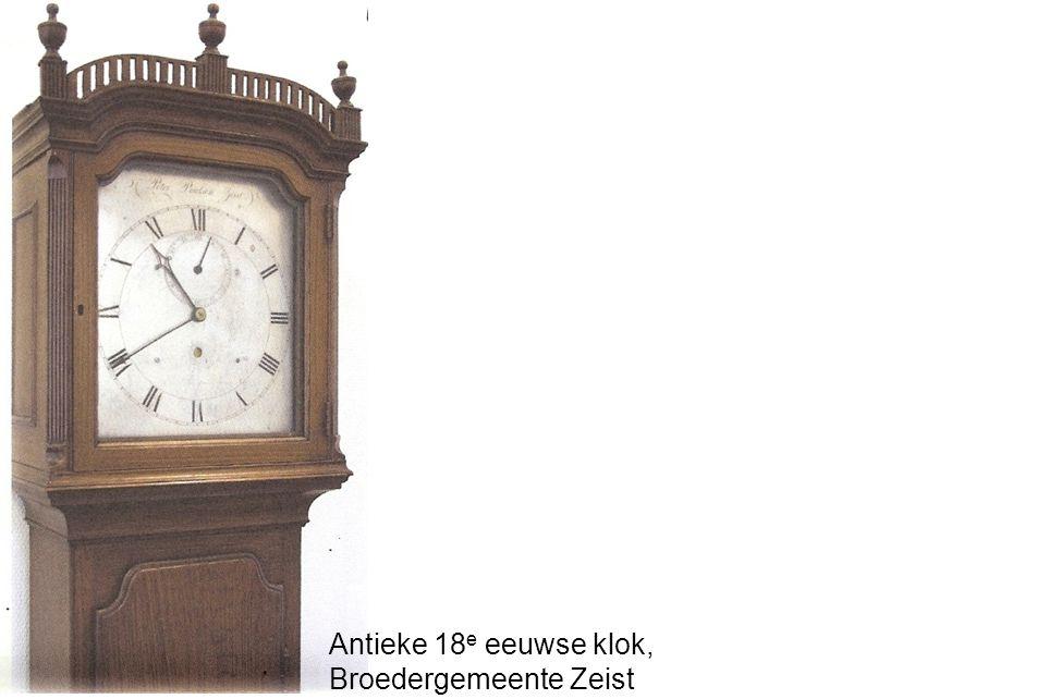 Antieke 18 e eeuwse klok, Broedergemeente Zeist
