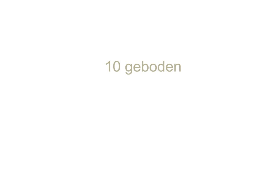 10 geboden