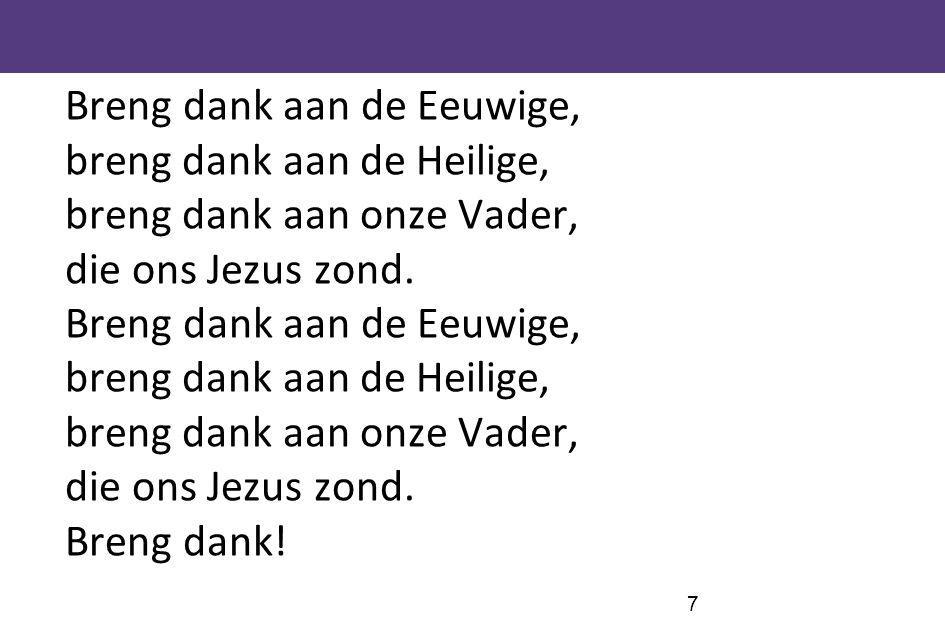 68 Wij zingen, vader, U ter eer (Schriftberijmingen 22)