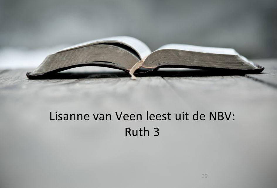 29 Lisanne van Veen leest uit de NBV: Ruth 3