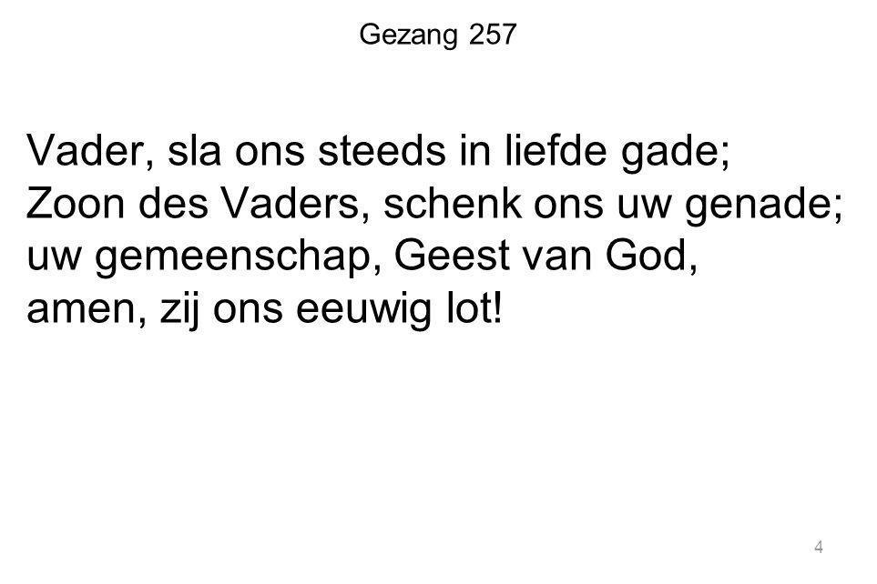 Zingen: Geloofsbelijdenis 1.