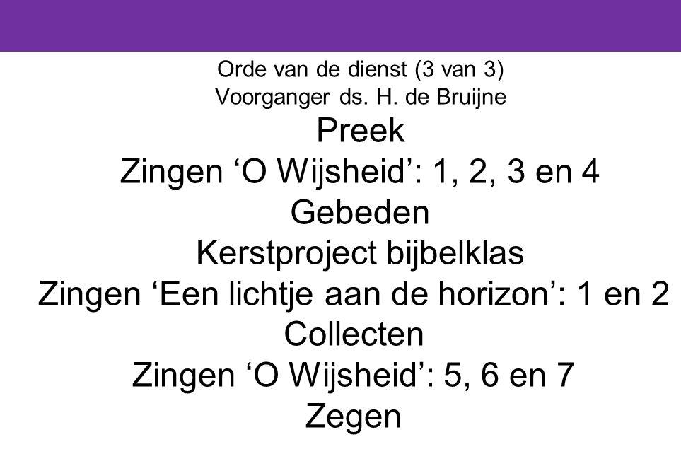 De tweede bijbellezing is Richteren 9 : 22 – 49 (in de Herziene StatenVertaling).