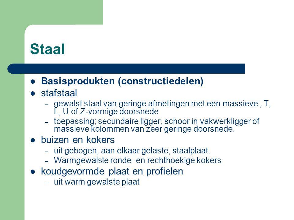 Staal Roest- en weervaststaal – Roestvast staal is veelal door toevoeging van chroom zeer goed beschermd tegen corrosie.