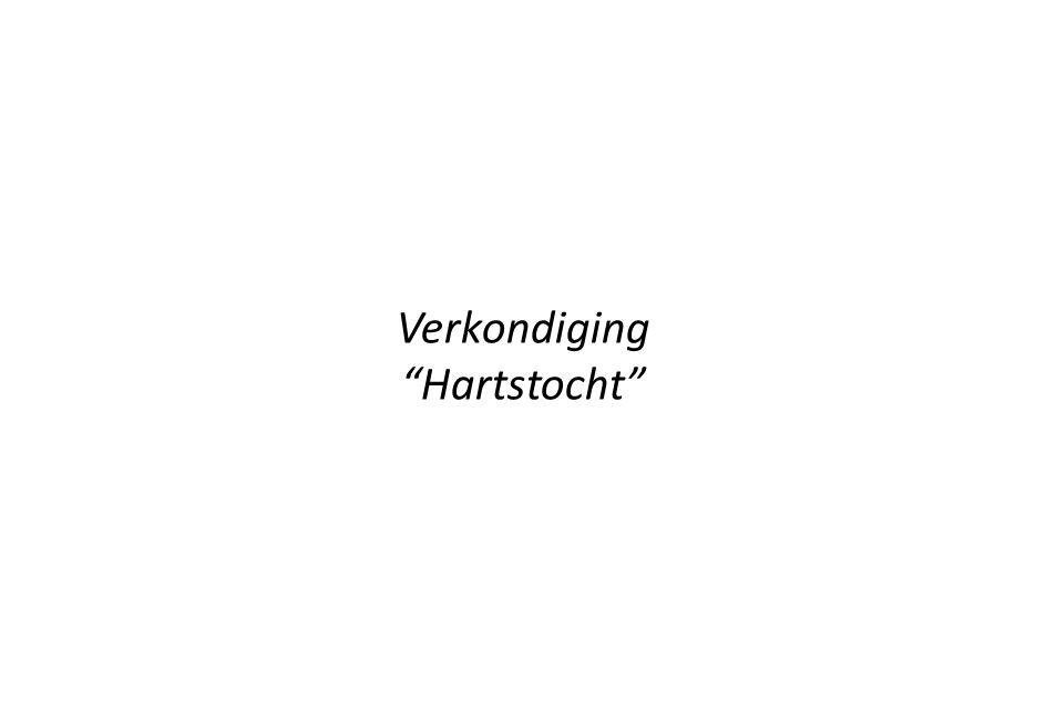 """Verkondiging """"Hartstocht"""""""