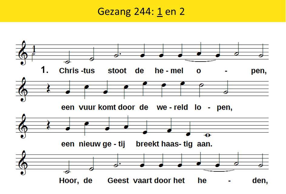 Gezang 244: 1 en 2