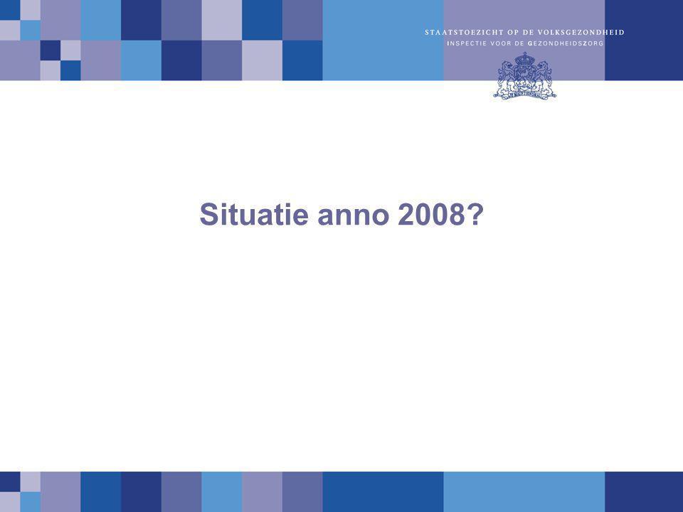 Situatie anno 2008?