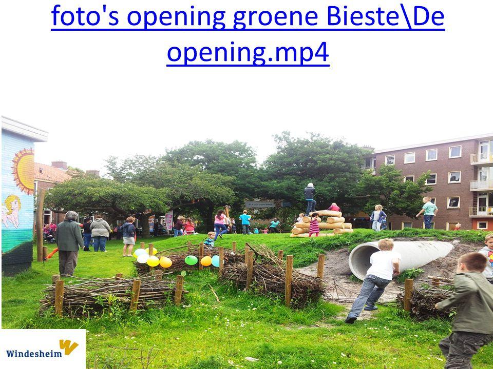 foto s opening groene Bieste\De opening.mp4