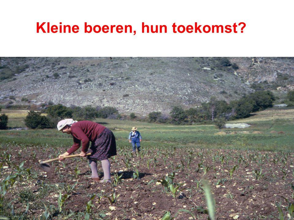14 Kleine boeren, hun toekomst Louise O. Fresco