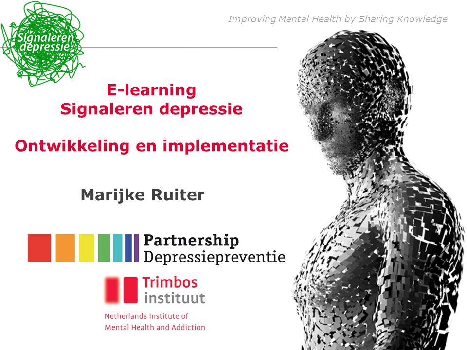 Meer 0 e en 1 e lijns (HBO-) professionals betrekken: wijkverpleegkundigen, maatschappelijk werkers, POH s,… Begin van de zorgketen mee vormgeven Handelingsmogelijkheden vergroten: depressie bespreekbaar maken; adviesopties verduidelijken; regionaal aanbod (GGZ-preventie, welzijnswerk, AMW, thuiszorg) in kaart brengen; adviezen opvolgen Cliënten motiveren tot zelfmanagement van depressieve/psychische klachten NCVGZ 2013 8-9-2014 2 Doel: bereik vergroten