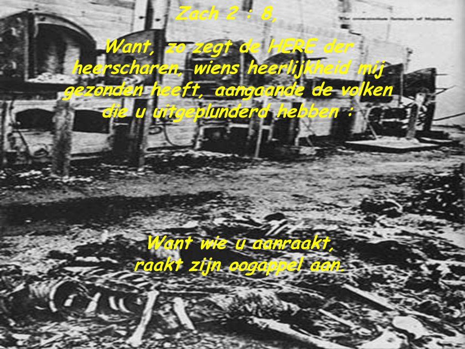 Jes.3 : 15, Hoe durven jullie mijn volk te vertrappen en de armen zo zwaar te mishandelen.