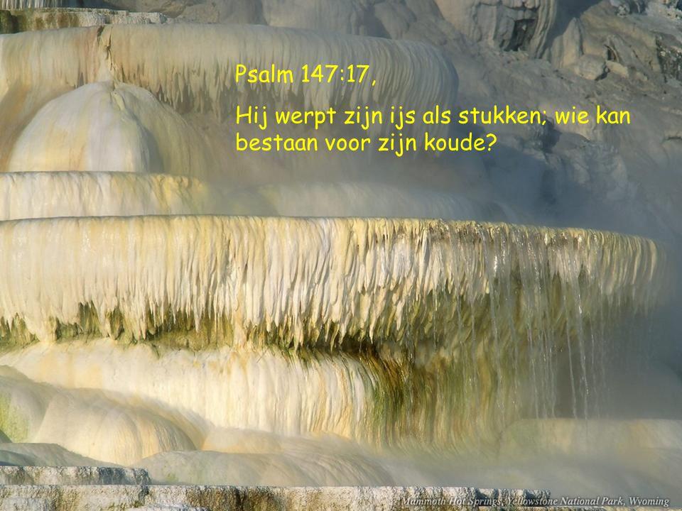 Psalm.98:8, dat de stromen in de handen klappen, de bergen tezamen jubelen