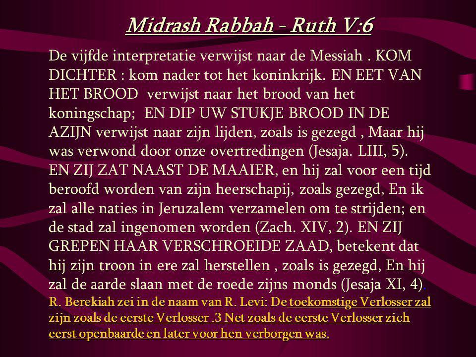 R.Berekiah zei in de naam van R.
