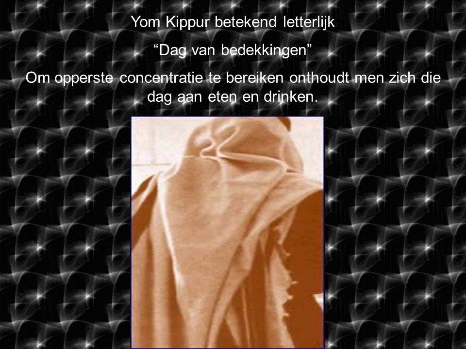Yom Kippur is één van de meest bekende Joodse gedenkdagen.