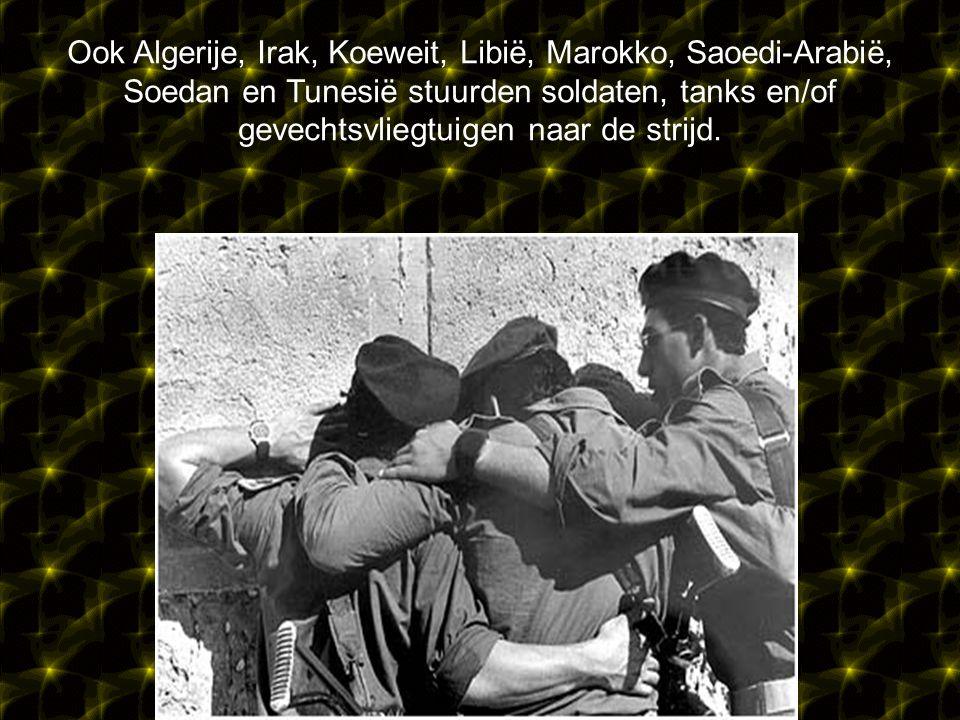 De oorlog werd geïnitieerd door een coalitie van Egypte en Syrië die een aanval inzetten tegen Israël.