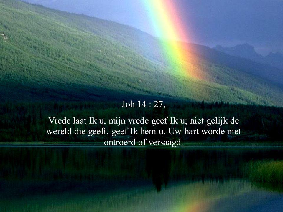 Joh.7:38 Wie in Mij gelooft, gelijk de Schrift zegt, stromen van levend water zullen uit zijn binnenste vloeien.