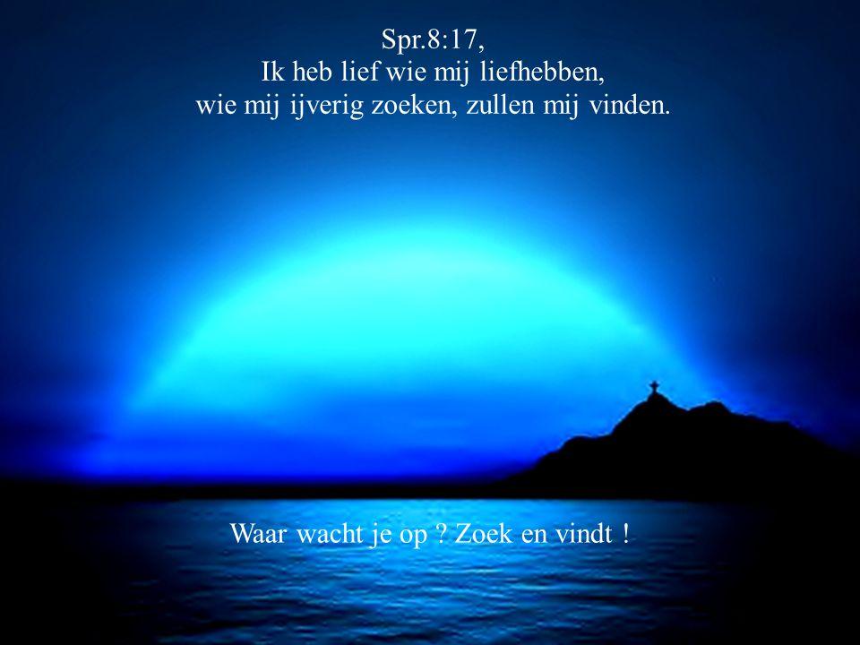 1 Kor.13:12 Want nu zien wij nog door een spiegel, in raadselen, doch straks van aangezicht tot aangezicht.