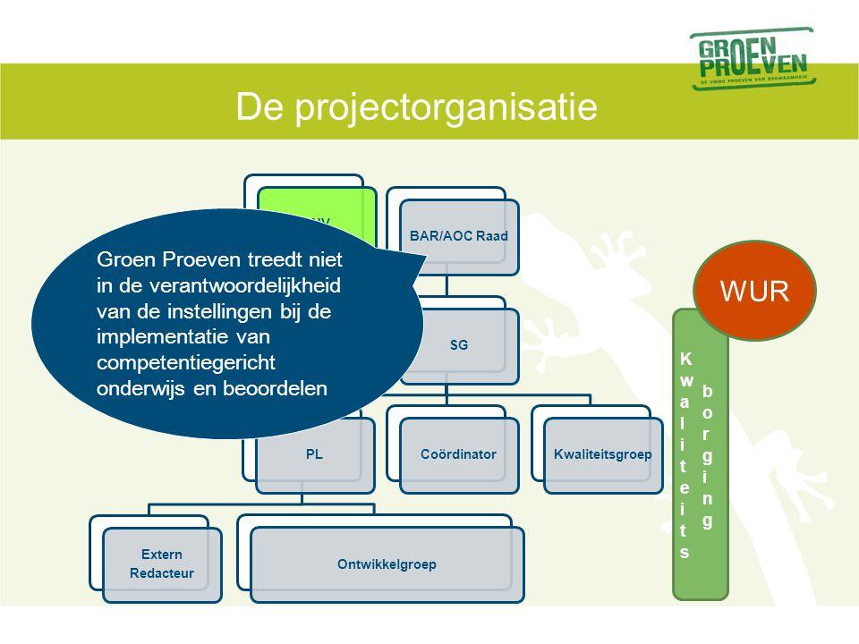Groen Proeven laat vooral zien en ervaren hoe competentiegerichte schoolexaminering in de praktijk werkt.