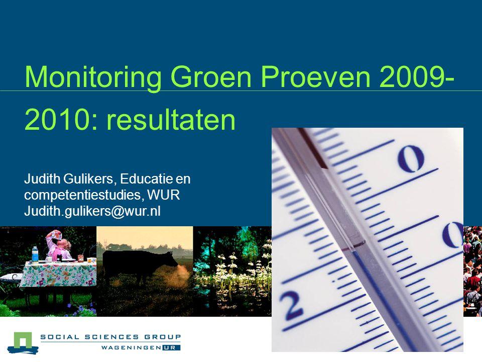 Inhoud De monitoringsprocedure Wat cijfertjes Reflectie op intakes De ervaren kwaliteit Aandachtspunten voor vervolg van GP en monitoring