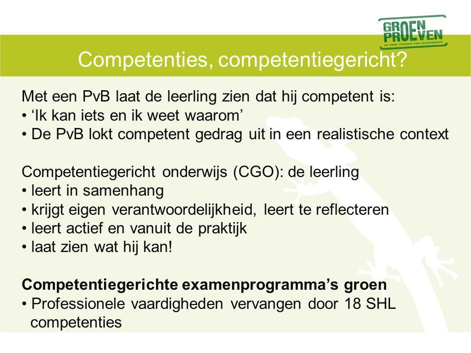 Competenties, competentiegericht.