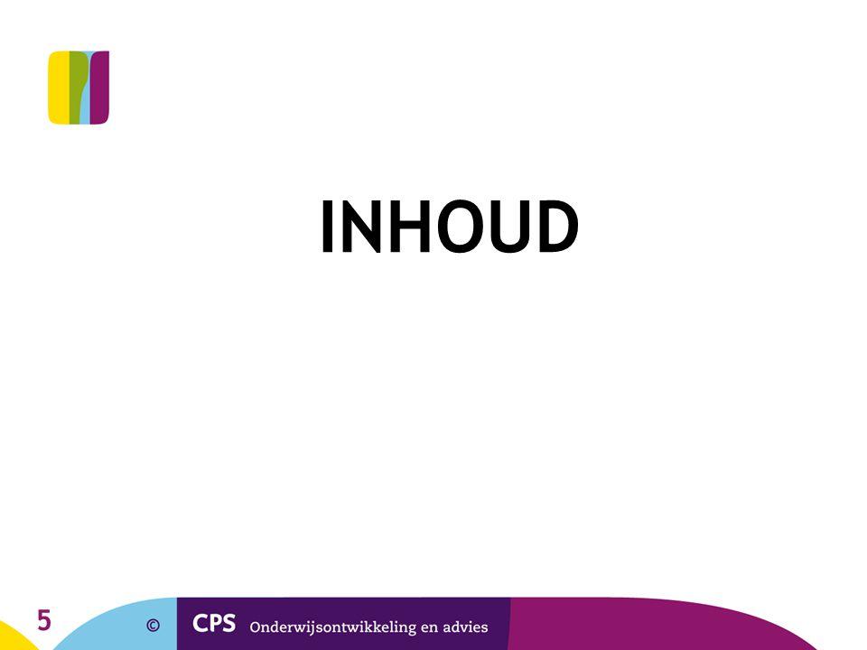 5 INHOUD