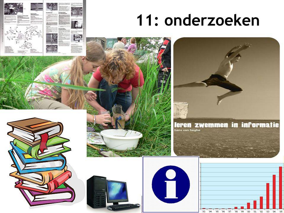 12 11: onderzoeken