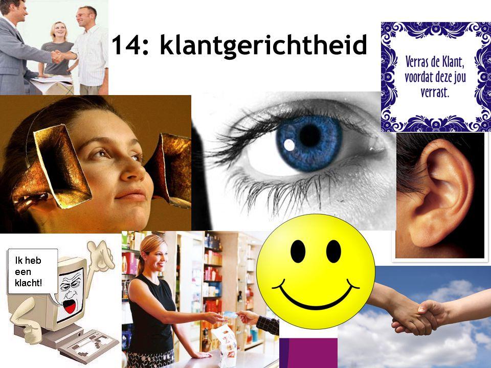15 14: klantgerichtheid