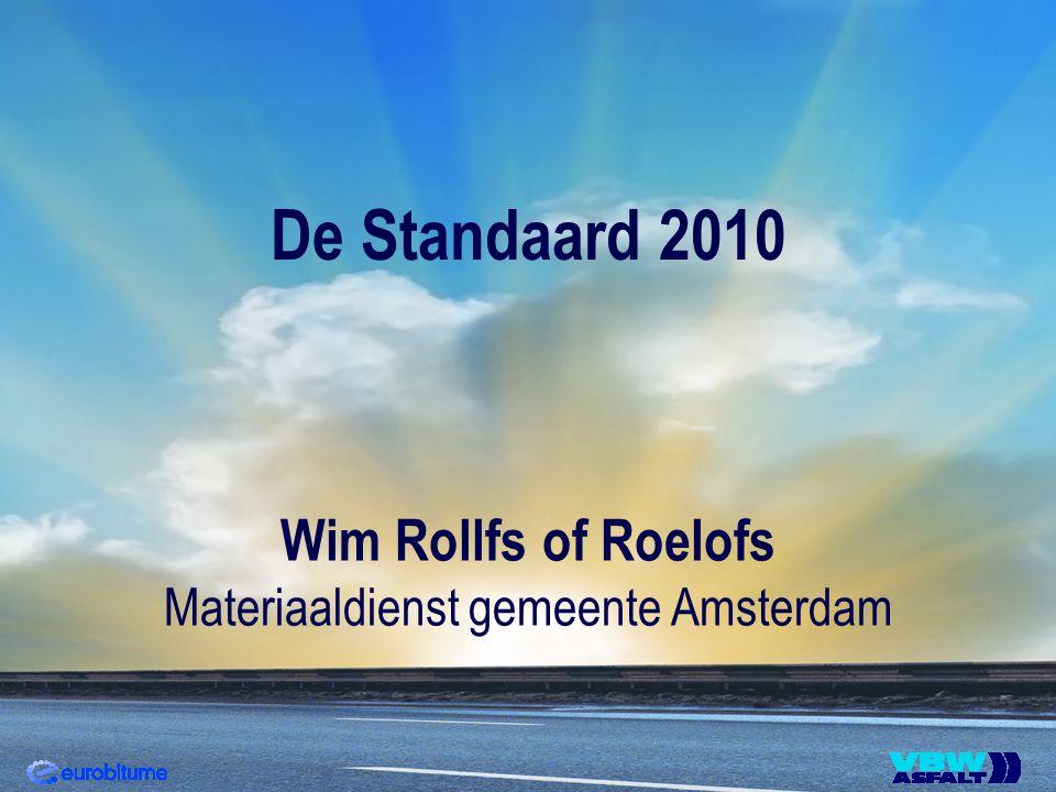 Standaard RAW Belang van de RAW-systematiek Terugblik overgang van empirisch naar functioneel Standaard RAW 2005 wijziging mei 2008 Standaard RAW 2010 aanpassing hfst.
