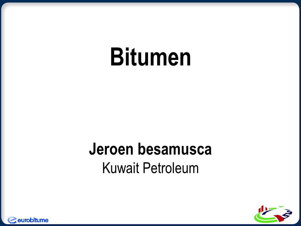 Bitumen Jeroen besamusca Kuwait Petroleum