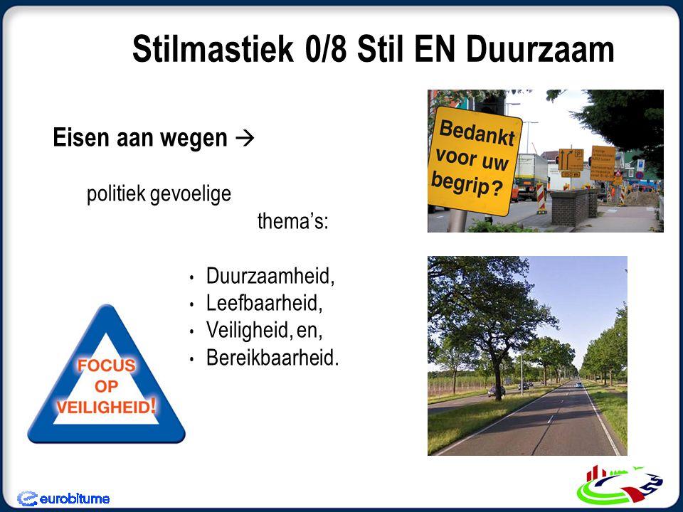 Wat is duurzaamheid.Is hergebruik in asfalt met kortere levensduur Duurzaam.