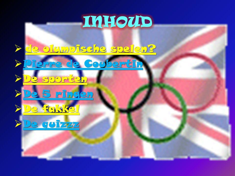 de olympische spelen. de olympische spelen.