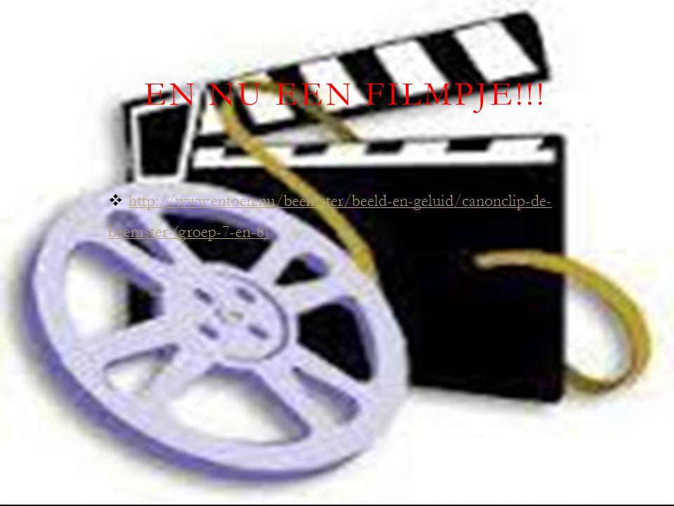 EN NU EEN FILMPJE!!!  http://www.entoen.nu/beemster/beeld-en-geluid/canonclip-de- beemster-(groep-7-en-8) http://www.entoen.nu/beemster/beeld-en-gelu