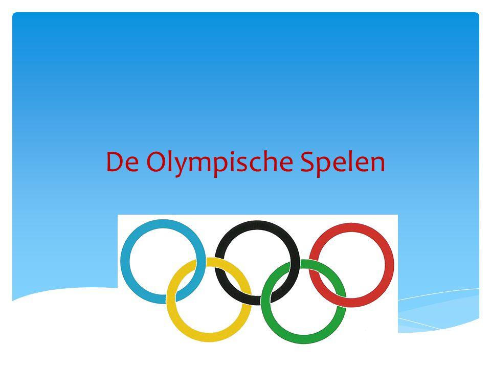 De Olympische Spelen zijn ontstaan vlak bij het stadje Olympia, ongeveer 4000 jaar geleden, in Griekenland.