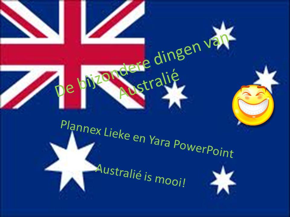 De bijzondere dingen van Australié Plannex Lieke en Yara PowerPoint Australié is mooi!