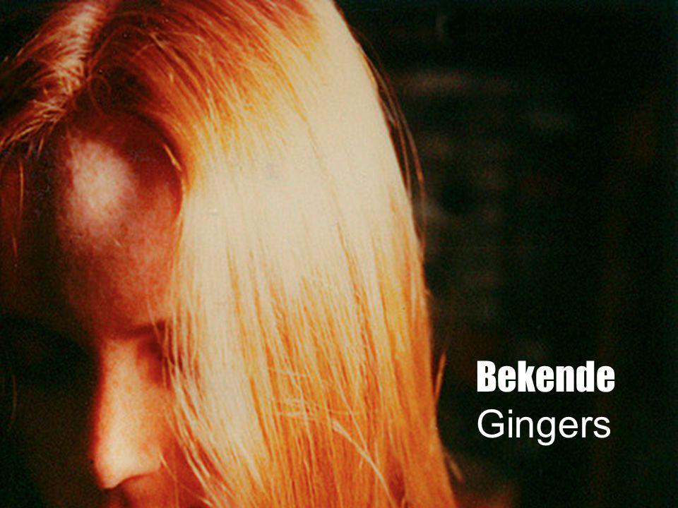 Bekenede Gingers Bekende Gingers