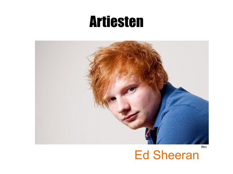 Artiesten Ed Sheeran