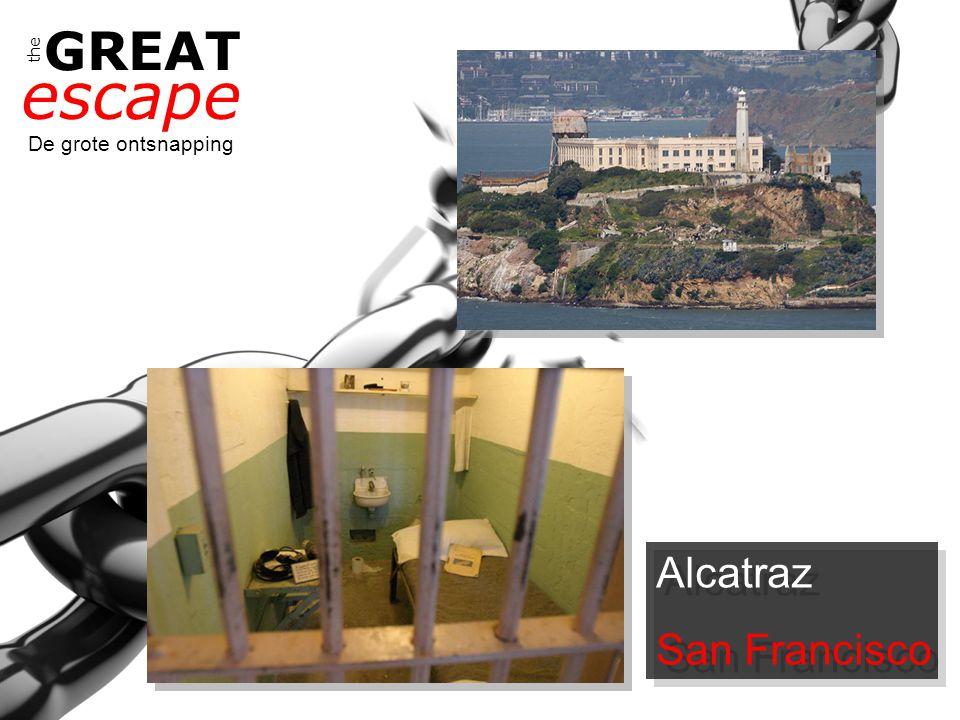 the GREAT escape De grote ontsnapping Wie kan ons bevrijden?