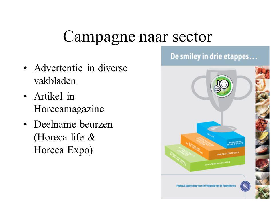 Campagne naar consument Nog te verschijnen artikel in TA