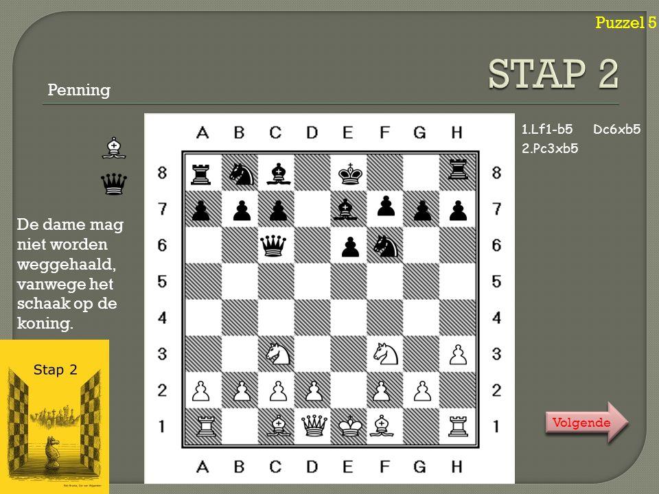 Puzzel 6 Klik .Klik . 1. Ta1-g1Kh4-h3 2.