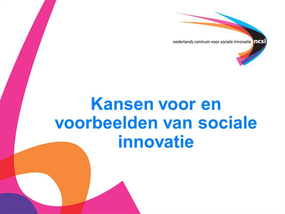 2 Agenda  Wat is het NCSI. Waarom (sociale) innovatie.