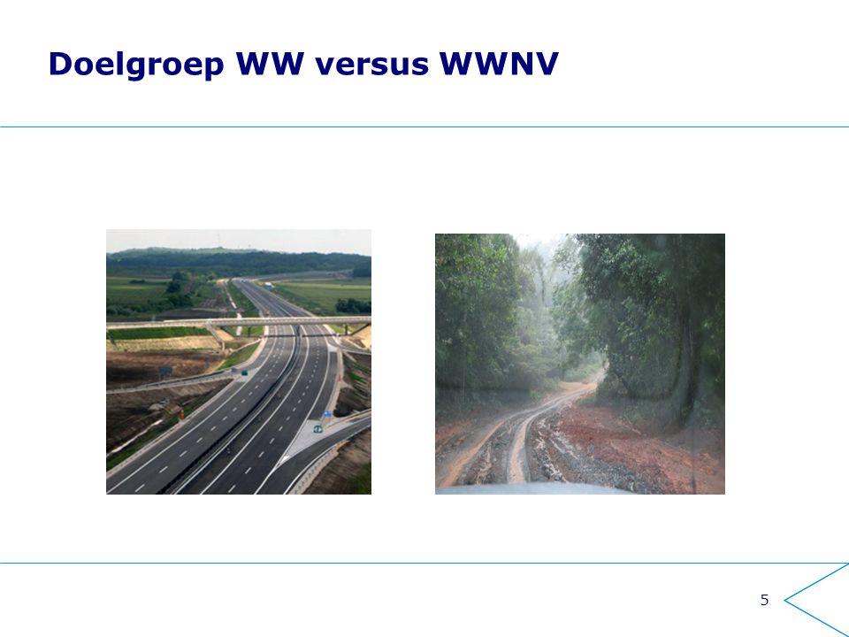 5 Doelgroep WW versus WWNV