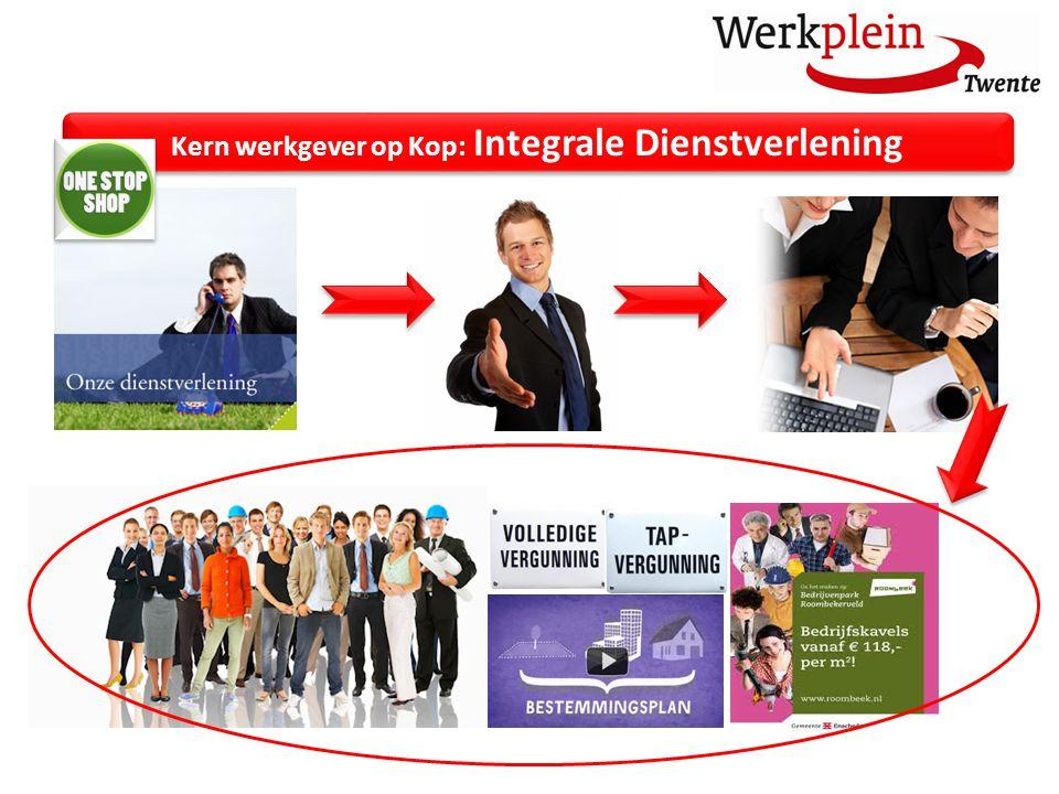 Kern werkgever op Kop: Integrale Dienstverlening