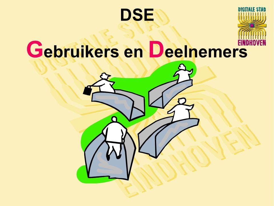 DSE G ebruikers en D eelnemers
